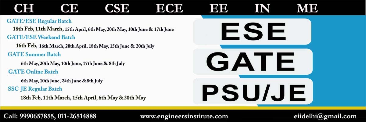 Ies Ese Exam Syllabus For General Ability Ce Ee Ece Me